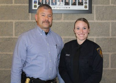 First Wayne County Regional Police Academy grad receives