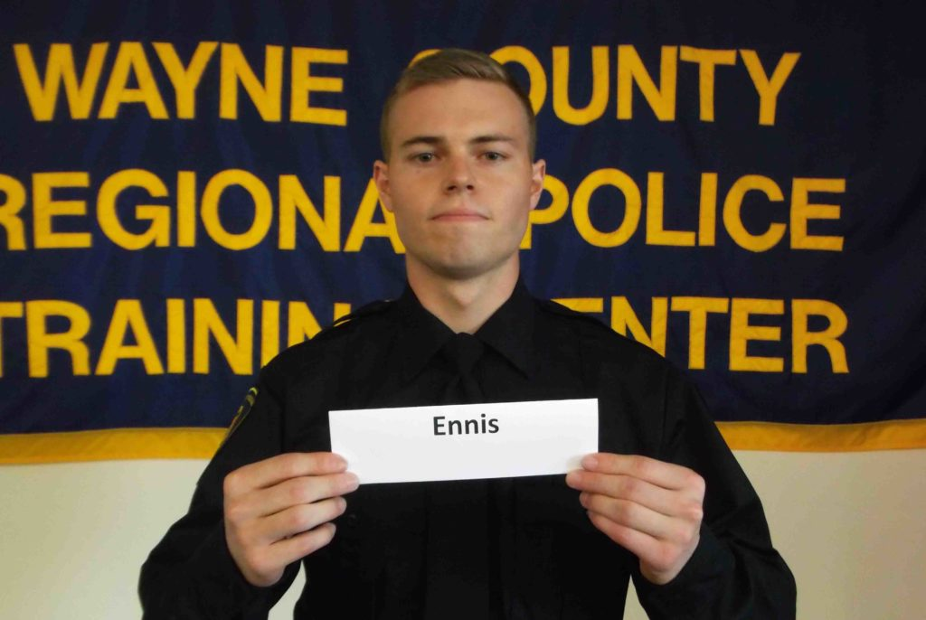 Wayne County Regional Police Academy grad earns many honors